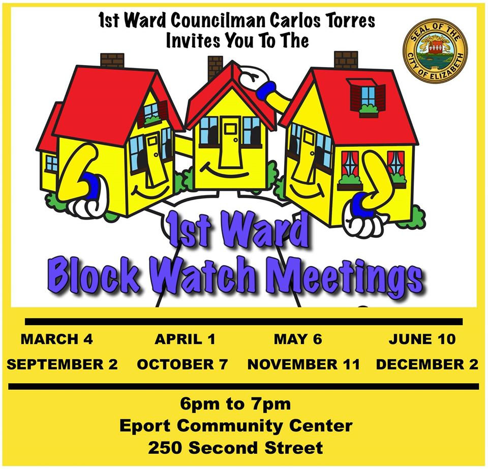 1st Ward Block Watch