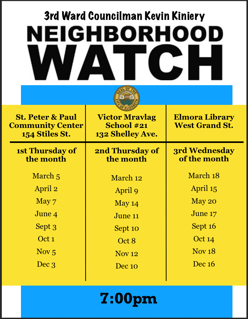 3rd Ward Blockwatch