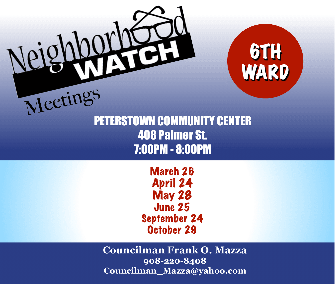 6th Ward Blockwatch