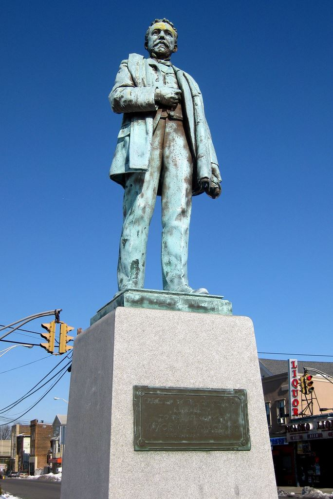 Mayor Mack Statue